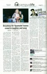 Broadway hit 'Spamalot' leaves crowd in laughter and song, The Northern Iowan, January 20, 2012