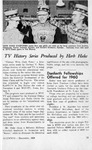 TV history series produced by Herb Hake, Alumnus, December 1959