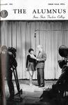 [Herb Hake on cover], Alumnus, February 1951