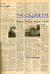Six students see Windy City: Observe drama from gallery, The College Eye, January 10, 1941