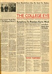 Equal prizes awarded one-act play authors, The College Eye, February 13, 1942