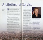 A lifetime of service, Northern Iowa Today, Winter 2008