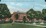 The Cannon and Auditorium, Iowa State Teachers College, Cedar Falls, IA