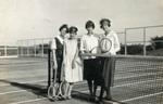 A tennis game
