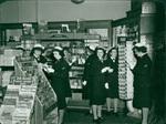WAVES at Berg Corner Drug 1943