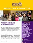Women's and Gender Studies Newsletter, v2, Spring 2019 by University of Northern Iowa. Women's and Gender Studies.