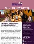 Women's and Gender Studies Newsletter, v3, Fall 2019
