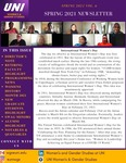 Women's and Gender Studies Newsletter, v6, Spring 2021